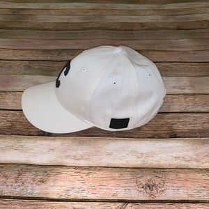 Chalk White Coach New York Varsity Hat Baseball Cap